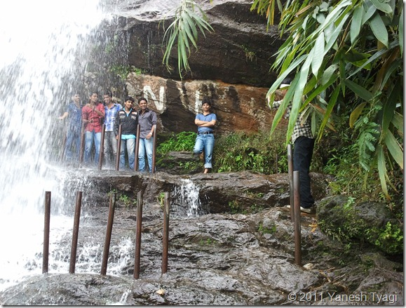 026. One of the rare experience... standing at the extreme bottom of 1000ft high Cheyappara waterfall