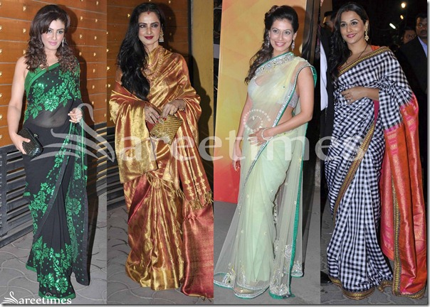 Sarees_Filmfare_Awards_2013(1)