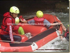 Fun Trip Water rafting sungai sedim