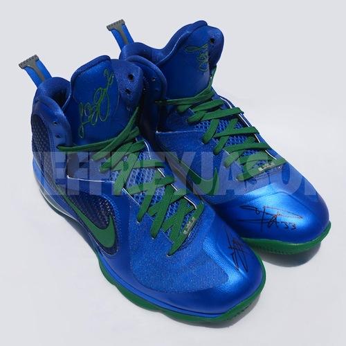 Seimone Augustus8217 Nike LeBron 9 Minnesota Lynx PE