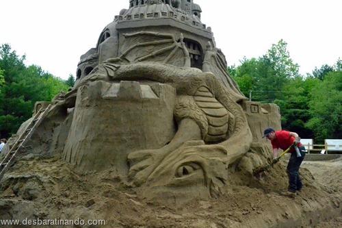 castelo de areia maior do mundo guinnes world book desbaratinando (24)