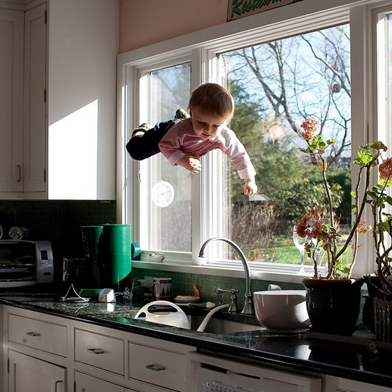 The Flying Baby: Photography by Rachel Hulin