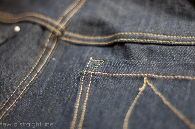 pockets flat felled seams jeans sew along sew a straight line-24