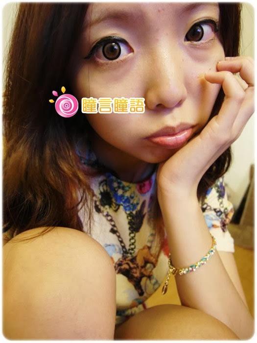 日本EOS隱形眼鏡-3D棒棒糖咖46556