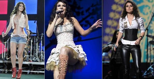 Roupas e vestidos da Paula Fernandes: Veja os looks mais famosos.  01