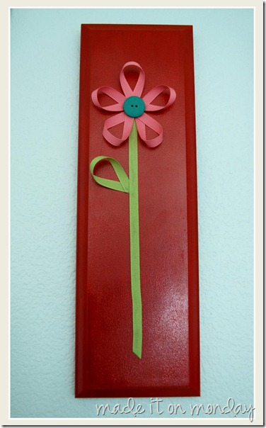 Ribbon Flowers Art 3