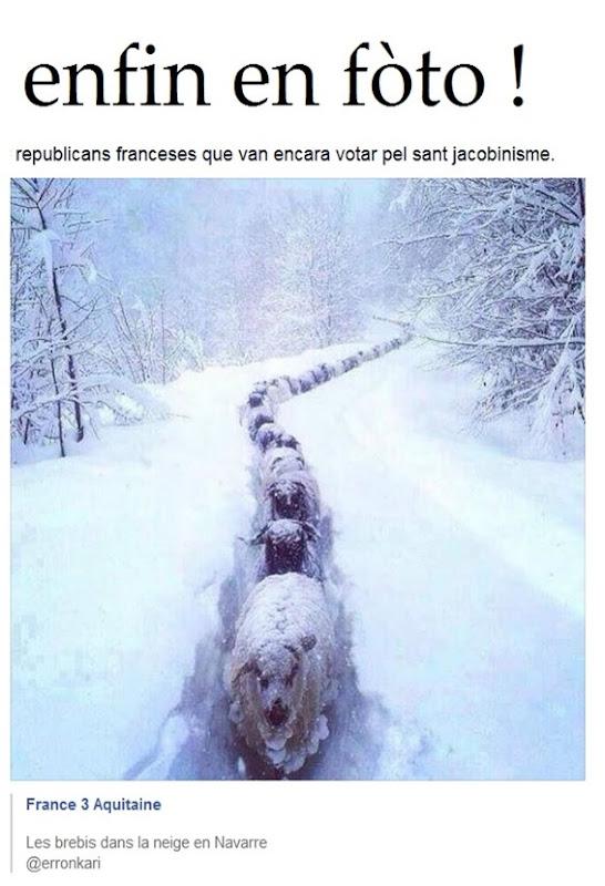 enfin en fòto republicans franceses que van votar pel sant jacobinisme