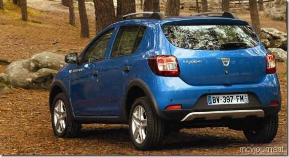 Dacia Sandero Stepway nieuw 02