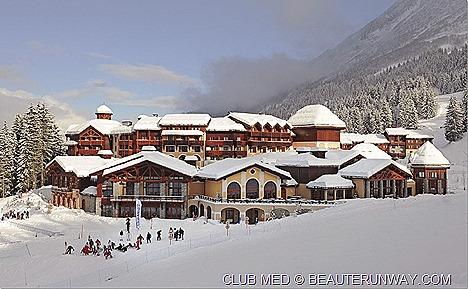 Club Med Offers Europe Valmorel Acrs Extreme snow ski resorts France Val d Isere L Alpe d'Huez La Sarenne Aime La Plagne Avoriaz Chamonix Mont-Blanc, Les Deux Alpes Meribel Aspen Park Meribel Antares La Plagne 2100