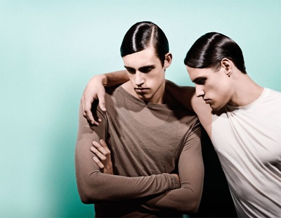 The Stenmark Twins by Enokae for 1883 mag.  Styled by Domingo Rodriguez | www.1883magazine.com