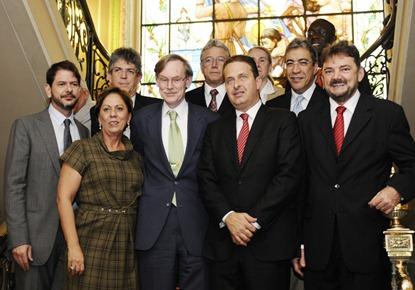 Governadores do nordeste com presidente do Banco Mundial - Elisa Elsie