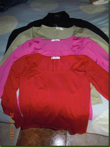Camisetas colores - Rosa