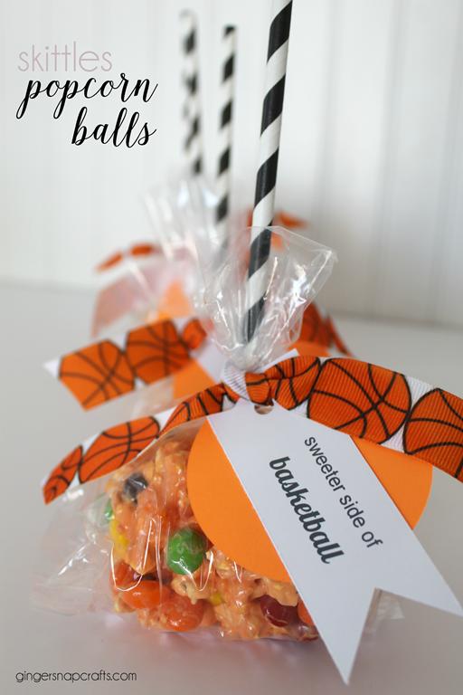 skittles popcorn ball recipe at GingerSnapCrafts.com