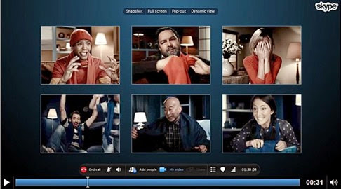 Skype permite videollamadas grupales gratuitas