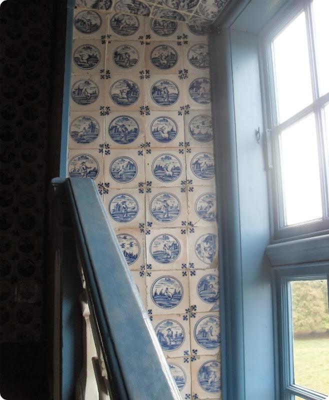 Fine fliser i Eremitagens trapperum - oktober 2013