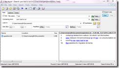 sync tool is run