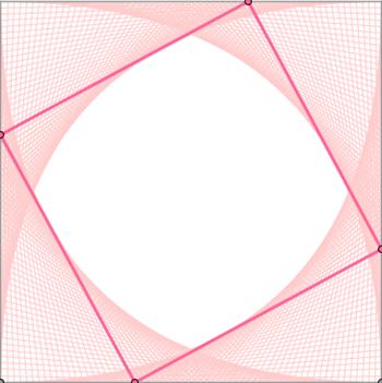 da quadrato, curve