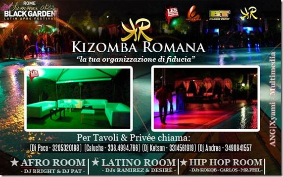 Roma Black Garden 2012