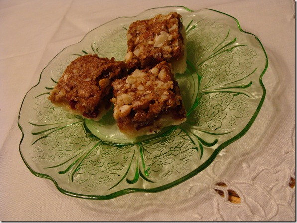 cranberry almond bars 2