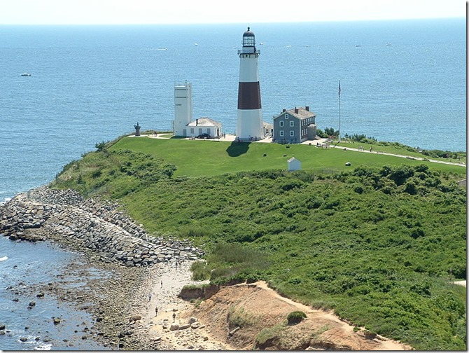 Montauk Point Lighthouse 2008 US Coast Guard Photo Wikimedia Commons No Copyright