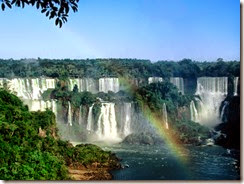 The Iguaza Falls