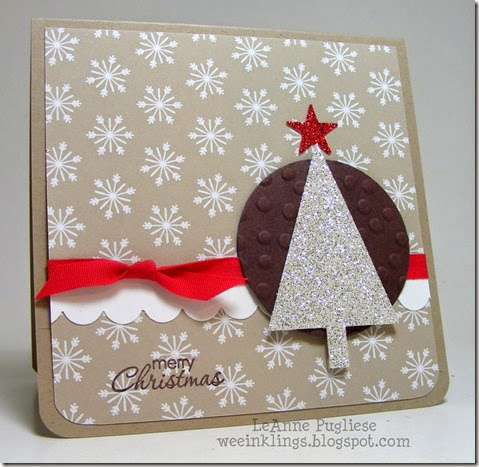 LeAnne Pugliese WeeInklings Christmas Sparkle Stampin Up