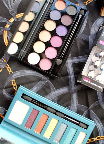 Sleek,BarryM-eyeshadow-palettes