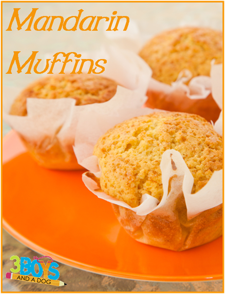Mandarin-Muffins