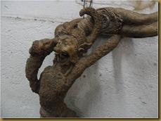 Patung hanoman sinta - wajah hanoman sinta