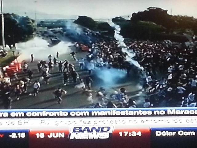 Manifestação Violencida da Policia 6