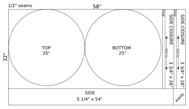 Lildog Blog: Small dog bed pattern