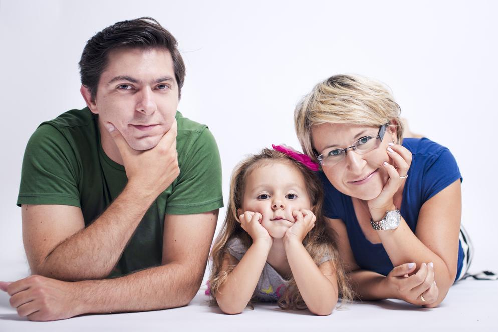 Milenka, Paulina, Daniel - zdjęcia rodzinne