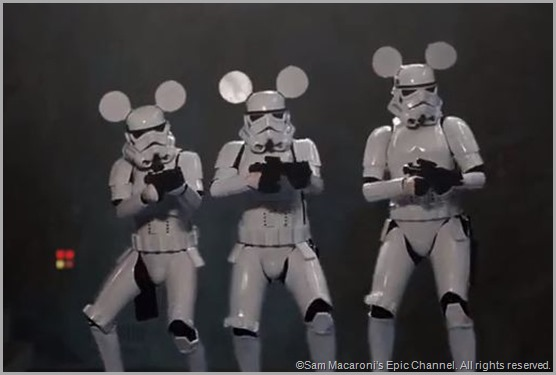 Mousketroopers from STAR WARS VII: RETURN OF THE EMPIRE.