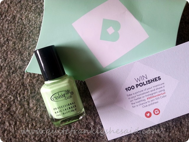 June Birchbox beauty box contents