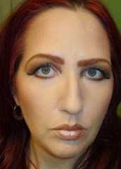 wearing Complexion Rescue Tinted Hydrating Gel Cream in Opal