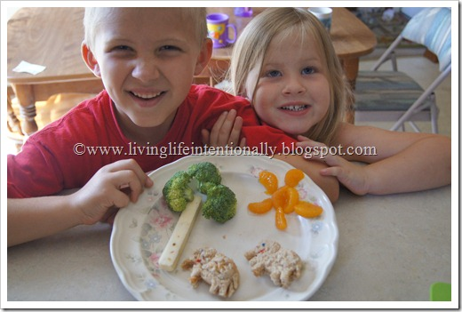 Elephant themed lunch for kids