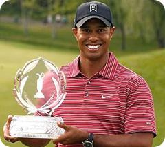 Tiger Woods y la suerte