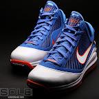 nike air max lebron 7 pe hardwood blue 3 08 Yet Another Hardwood Classic / New York Knicks Nike LeBron VII