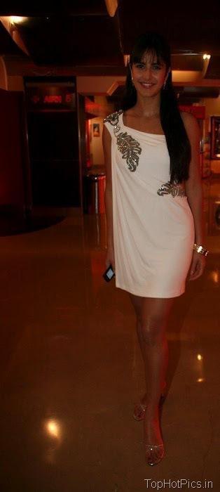 Katrina Kaif Hot Pics in Gorgeous White Dress 6