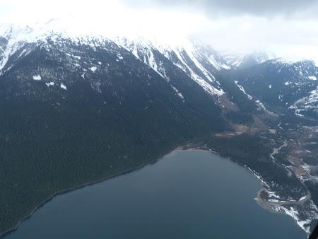 Lac glaciar in Canada