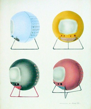 Murray Stein spherical television artistic rendering