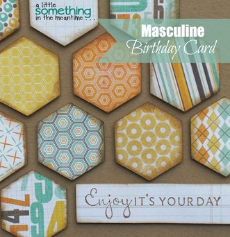 Masculine Birthday Card WM