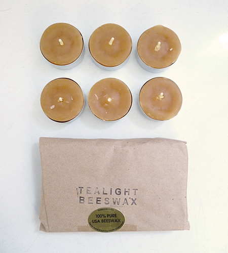 Always keep a few tealight candles in your picnic kit for low-cost illumination that's easy to pack. (brookfarmgeneralstore.com)