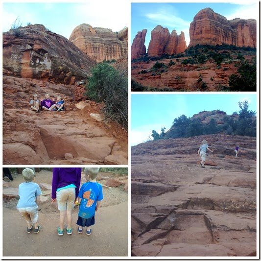 cathedral rock Collage