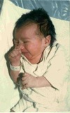 My First Photo as a Newborn Baby…