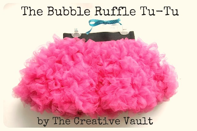 bubble ruffle tutu tutorial