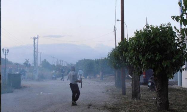 Χάος στην Πάτρα - Εμπόλεμη ζώνη η παραλιακή