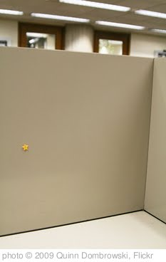 'Gold star for the study carrels!' photo (c) 2009, Quinn Dombrowski - license: http://creativecommons.org/licenses/by-sa/2.0/