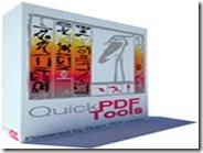 Quick PDF Tools suite per convertire, estrarre, modificare, unire, proteggere PDF
