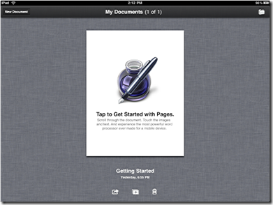 Transfer View And Edit Microsoft Word Documents on iPad5